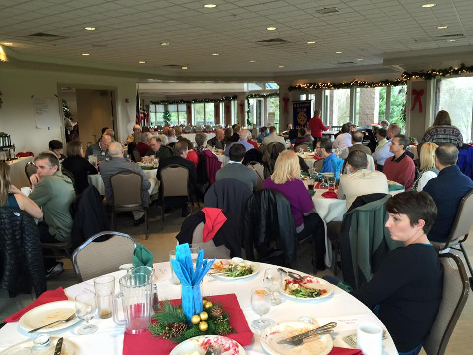 Greater Albany Rotary Club Christmas Luncheon