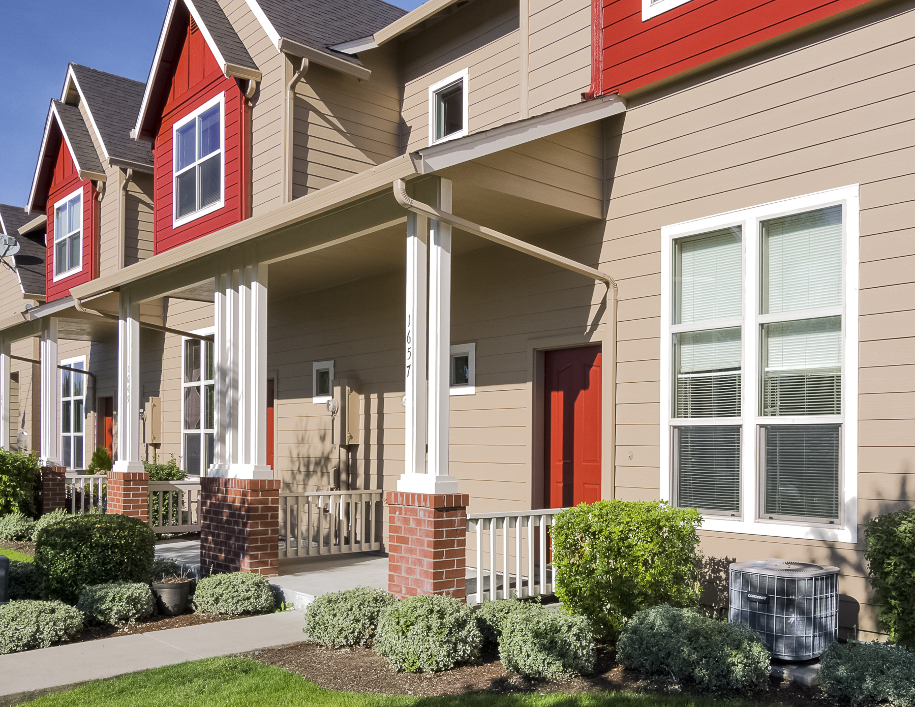 Stanford Townhomes | Fitzpatrick Painting