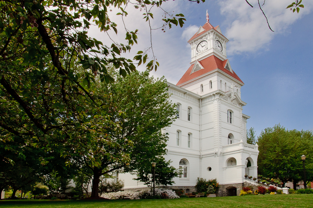 Historical Restoration Benton County Courthouse
