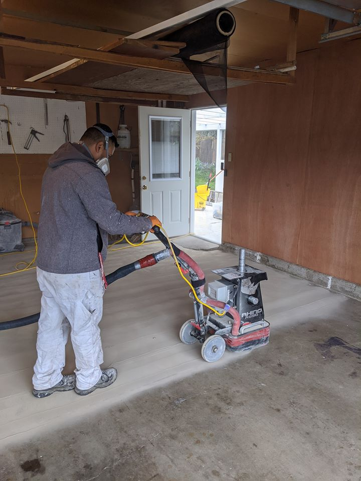 Fitzpatrick Painting and Construction Concrete Coatings