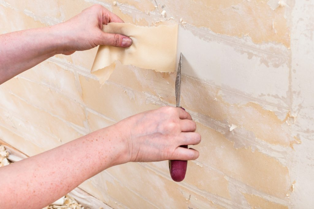 How To Remove Wallpaper Glue And Residue Fitzpatrick Painting